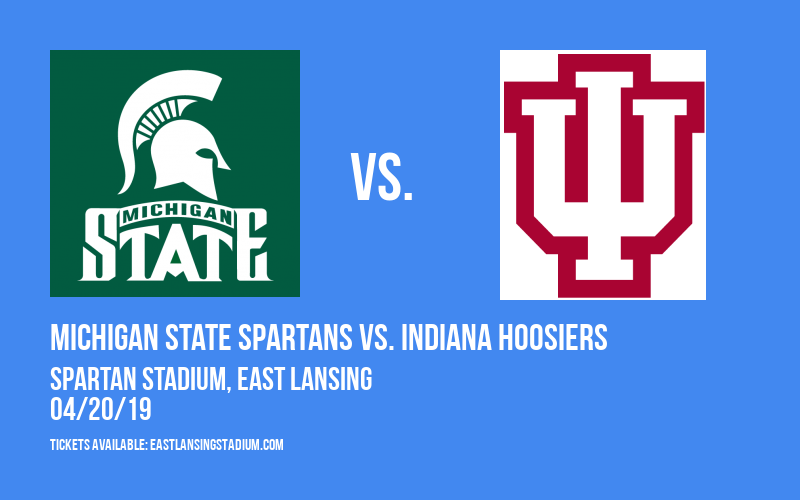 Michigan State Spartans vs. Indiana Hoosiers at Spartan Stadium