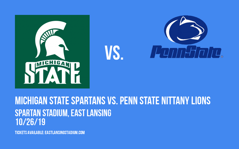 PARKING: Michigan State Spartans vs. Penn State Nittany Lions at Spartan Stadium