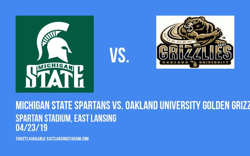 Michigan State Spartans vs. Oakland University Golden Grizzlies at Spartan Stadium