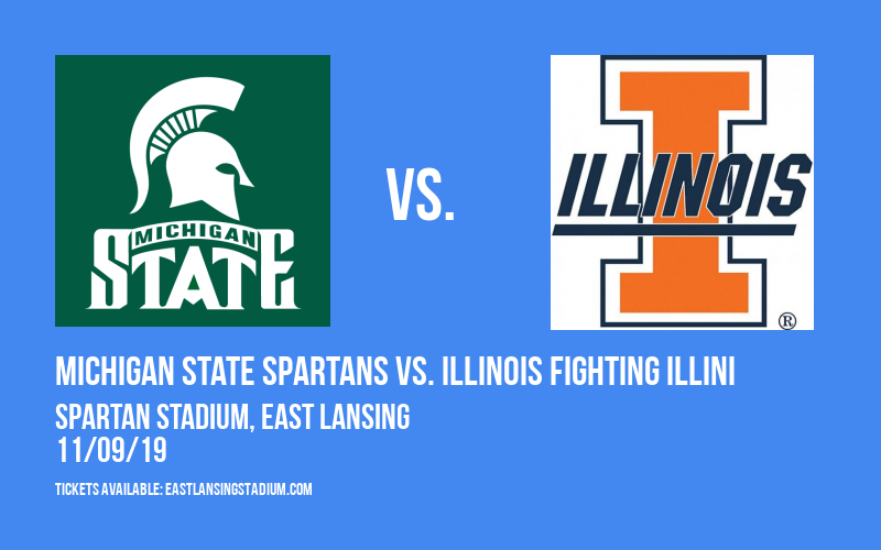 PARKING: Michigan State Spartans vs. Illinois Fighting Illini at Spartan Stadium