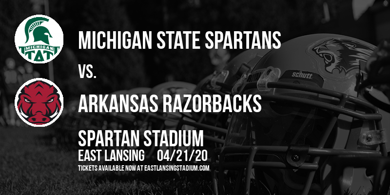 Michigan State Spartans vs. Arkansas Razorbacks at Spartan Stadium