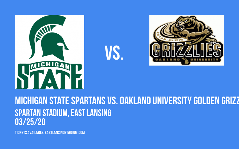 Michigan State Spartans vs. Oakland University Golden Grizzlies at Spartan Stadium