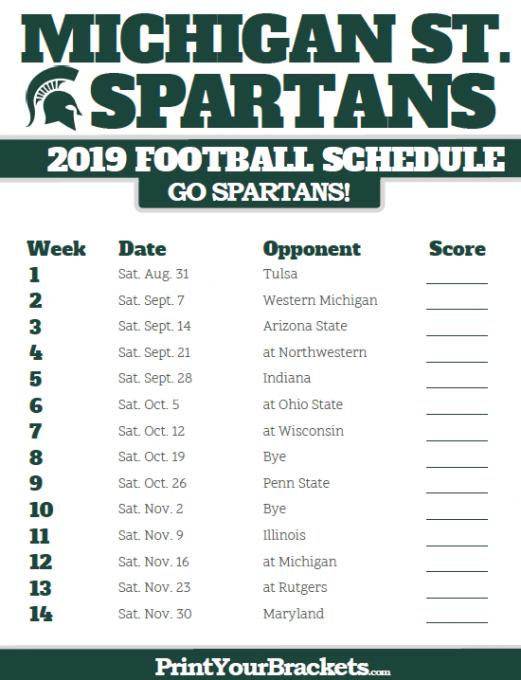 Michigan State Spartans vs. Indiana Hoosiers at Spartan Stadium