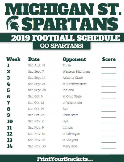 PARKING: Michigan State Spartans vs. Indiana Hoosiers at Spartan Stadium