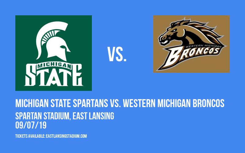 Michigan State Spartans vs. Western Michigan Broncos at Spartan Stadium