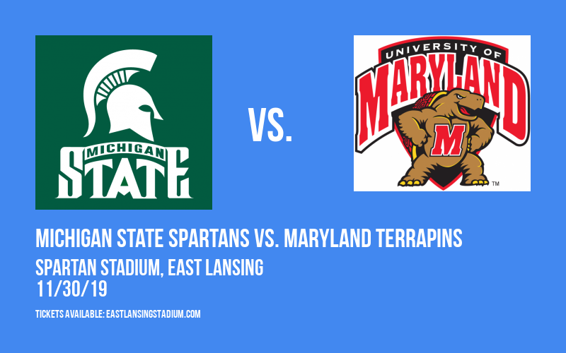 PARKING: Michigan State Spartans vs. Maryland Terrapins at Spartan Stadium