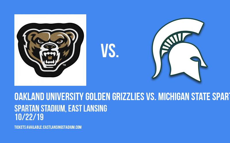 Oakland University Golden Grizzlies vs. Michigan State Spartans at Spartan Stadium