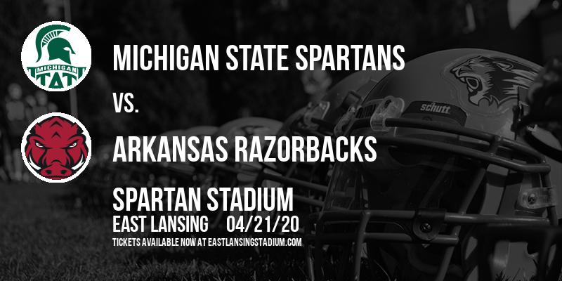 Michigan State Spartans vs. Arkansas Razorbacks at Spartan Stadium