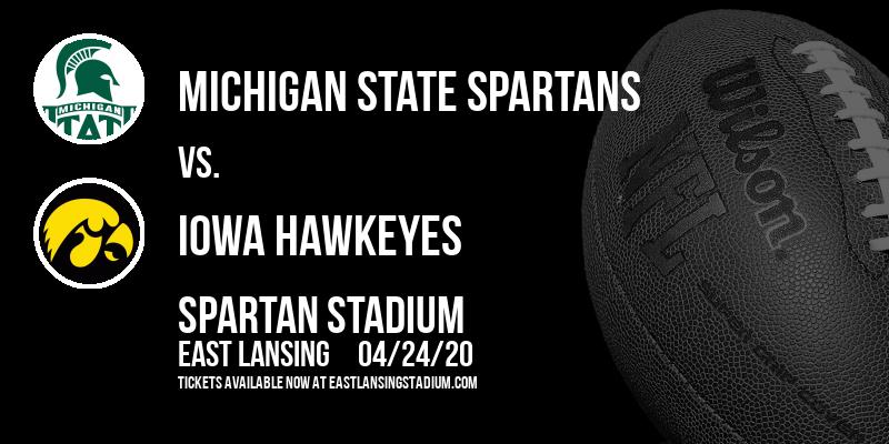 Michigan State Spartans vs. Iowa Hawkeyes at Spartan Stadium