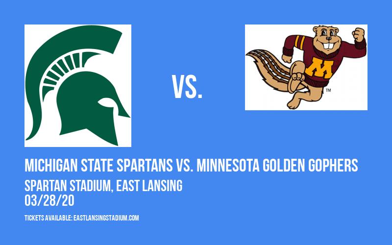 Michigan State Spartans vs. Minnesota Golden Gophers at Spartan Stadium