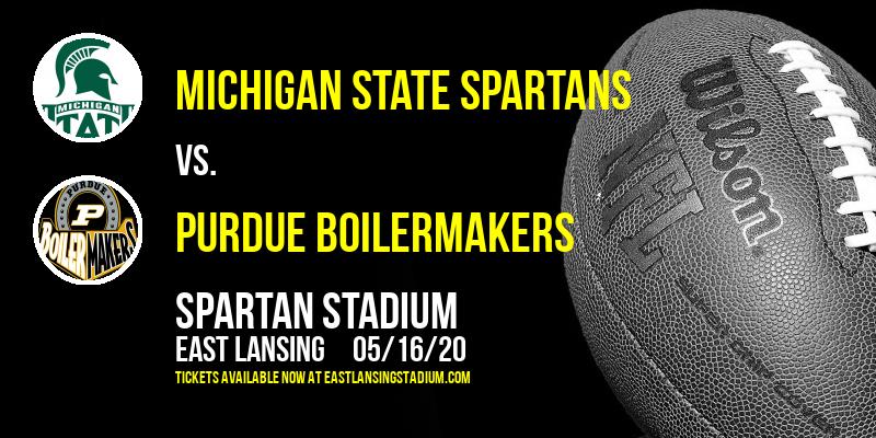 Michigan State Spartans vs. Purdue Boilermakers at Spartan Stadium